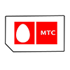 MTS, Russia SIM card for GSM phone with 10 USD credit on the account